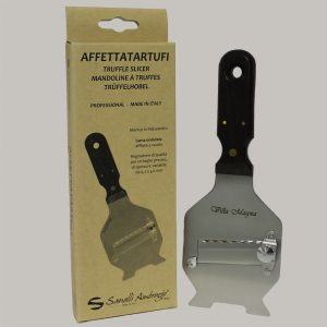 Stainless Steel Truffle Slicer with Rosewood handle - Affettatartufi in Acciaio e Legno
